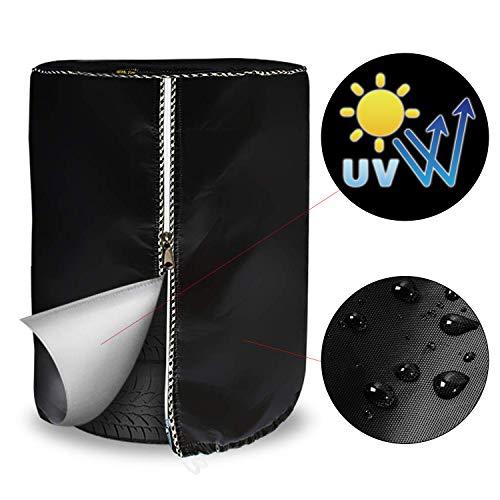 Mr.You Large Tire Cover,Tire Storage Bag & Seasonal Tire Cover,Waterproof Dust-Proof (Diameter...