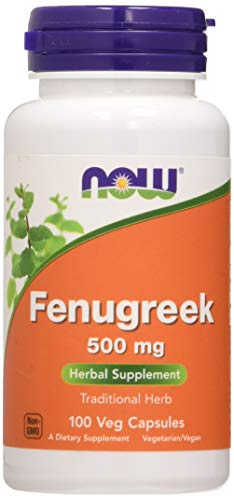 Now Foods Fenogreco, 500Mg 100 Unidades 90 g