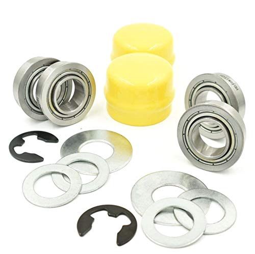 HD Switch Wheel Hub Bushing to Bearing Conversion Kit for John Deere M123811, GX21931, M143338, R27434, M123254, Bushings, Bearings