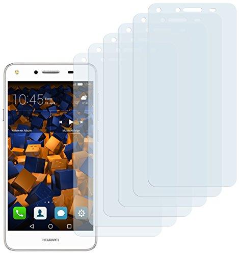 Schutzfolie kompatibel mit Huawei Y5 II Folie klar, Displayschutzfolie (6X)