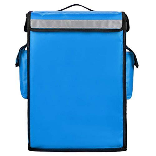 YuuHeeER 1 bolsa enfriadora de picnic de comida de 42 l con aislamiento térmico portátil para pizza, color azul