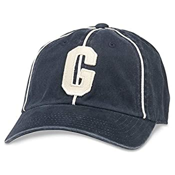 AMERICAN NEEDLE Archive Negro League Team Vintage Baseball Dad Hat Homestead Grays Navy