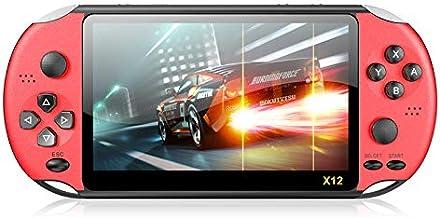 Console de jogos portátil X12, console de videogame portátil retrô embutido com mais de 1000 jogos clássicos, suporte de 1...