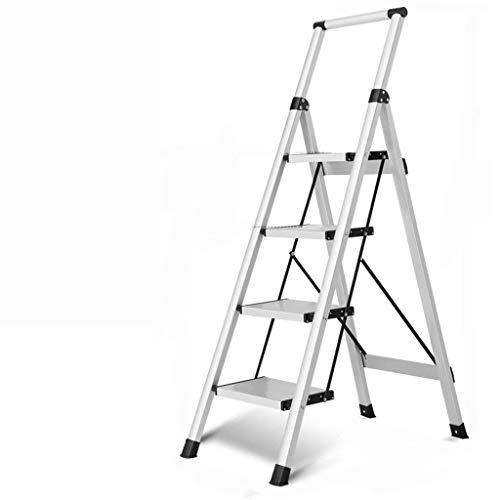 WHF Trittleiter , Leiter , Trittleiter Trittleiter Frivole Vierstufige Leiterverstärkung Sicherheits-Trittleiter Einfach Praktisch Klappdicke Für Innenstühle: Klappschritte,C,45 X 83 X 138 cm
