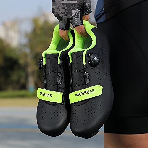 Unisex Mens Womens Road Bike Cycling Shoes Riding Shoes Peloton Shoe with SPD and Delta for Men Women Lock Pedal Bike Shoes Indoor Outdoor