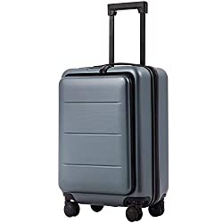 Coolife laptop hardside 20-inch carry-on in silver on amazon