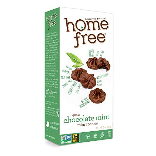 Homefree Treats You Can Trust Gluten Free Mini Cookies, Chocolate Mint, 5 Ounce