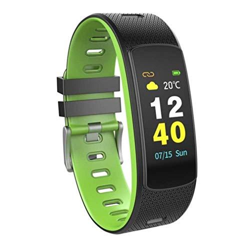 Muanser Fitnesstracker, 7 sportmodi, activiteitstracker, IP67 waterdichte smartband, USB-oplader voor smartwatches voor Android en iOS