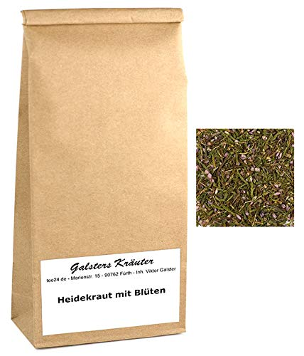 100g Heidekraut mit Blüten Erikakraut Heidekraut-Tee   Galsters Kräuter