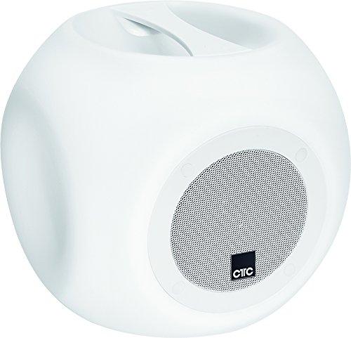 CTC BSS 7014 Bluetooth-luidsprekersysteem incl. krachtige accu, verlichtingsfunctie en lichteffecten, 10-traps dimmer, spatwaterdicht, afstandsbediening