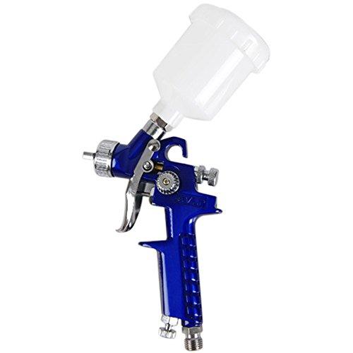 KKmoon 1,0 Mm Hvlp Aire Rociar Pistola Mini Auto Coche Detalle Toque Arriba Pintar Pulverizador Lugar Reparar (Tipo1)