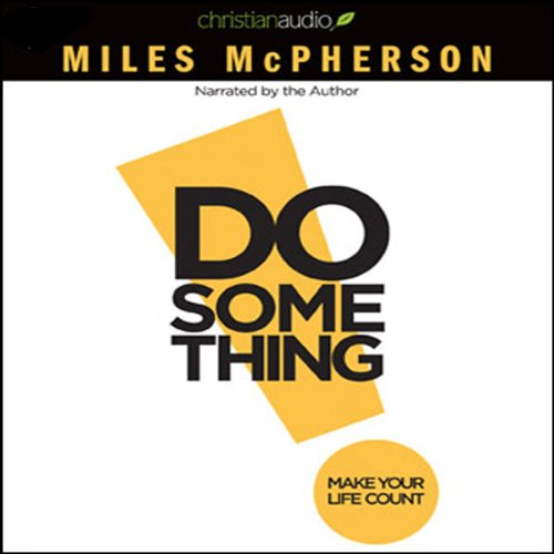 Do Something! audiobook cover art