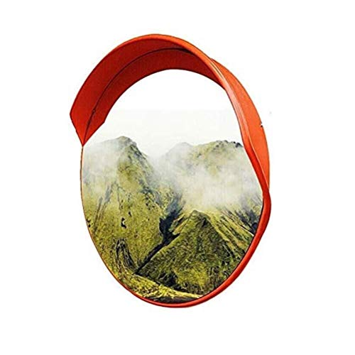 Xiao Jian- Sicherheits-Konvex-Spiegel Verkehrsspiegel Totwinkel Großer runder Außen Spiegel for Auffahrt Shops Büros Toter-Winkel-Spiegel (Größe : 100cm)