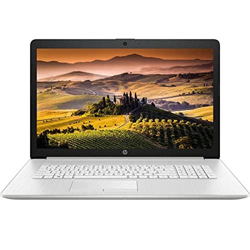 2021 Newest HP Laptop, 17.3' FHD Non-touch Display, 11th Gen Intel Core i5-1135G7 Quad-Core Processor, 16GB DDR4 Memory, 512GB PCIe NVMe SSD, Webcam, HDMI, Wi-Fi, Windows 10 Home, KKE Mousepad, Silver