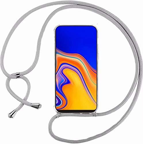 BestST Handykette Hülle mit Band für Samsung Galaxy A8S mit Umhängeband Silikonhülle,Schutzhülle mit Kordel zum Umhängen,Stylische Necklace handyhülle Halsband Lanyard Hülle