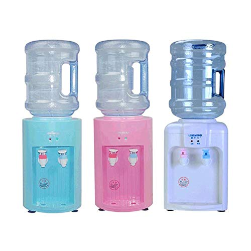 yummyfood Dispensador De Agua Fría 220 V Mini Máquina Eléctrica Portátil De Bebidas Frías Y Calientes Dispensador De Agua De Escritorio Soporte Dispensador De Agua