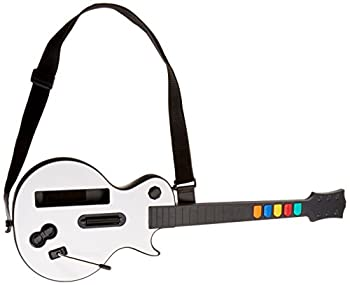 Wireless Guitar for Wii Guitar Hero and Rock Band Games  Excluding Rock Band 1  Color White