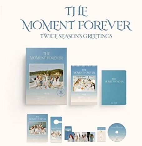 Ranking TOP3 TWICE - 2021 Season's Greetings THE MOMENT FOREVER Calendar Large special price Set+