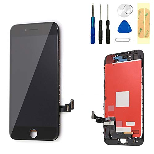Master Screen for iPhone 8 Screen Replacement 4.7' LCD Display & Touch Screen Digitizer Frame...