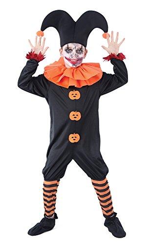 Bristol Novelty Evil Jester Dress (L) Enfant Âge 7–9 Ans
