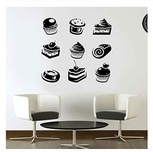 Xxscz Muffins, Cupcakes, Taart, Snoepjes, Café, Dessert, Wafel, Fast Food,Food,Pastry, Muursticker Interieur Decor Mural 2033