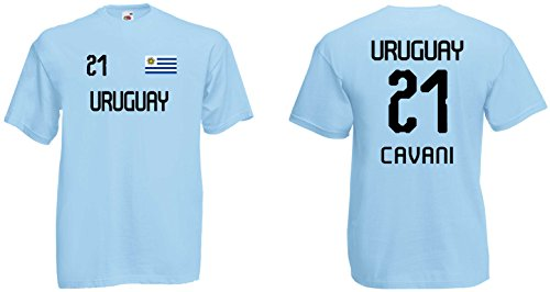Uruguay Cavani T-Shirt Trikot WM-2018 Look !!!NEU!!!
