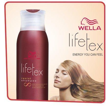 Wella lifetex resist, shampoo 250 ml