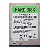 MERIGLARE Unidad de Disco Duro Interna de Escritorio HDD de 2.5'500GB SATA 8M Cache