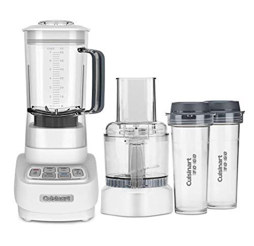 Cuisinart BFP-650 1 HP Blender/Food Processor, Silver, 3_cup