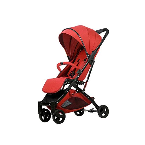 Great Price! Baby cart Can sit Reclining Ultralight Portable fold Damping No Need to Install Suitabl...