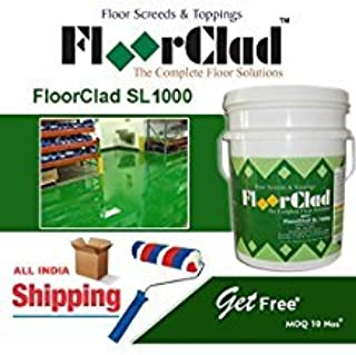 Monarch FloorClad SL 1000 Self Levelling Epoxy Floor Topping with 1 mm Thickness, Green