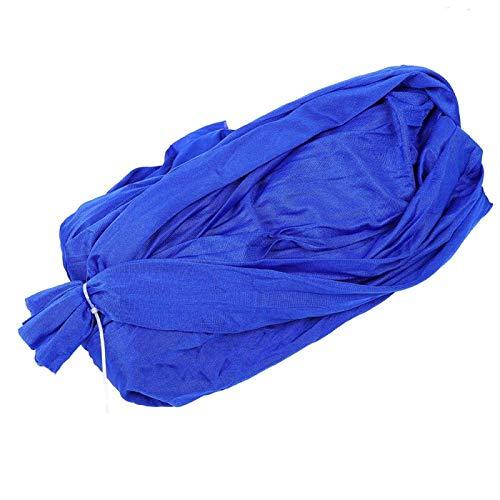 Jacksking Hamac Chaise Balançoire Lit Suspendu Jardin Cour en Plein Air Voyage Camping(Royal Blue, 1.5 m)