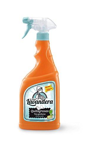 La Antigua Lavandera Spray Quitagrasa - 8 Recipientes de 750 ml - Total: 6000 ml