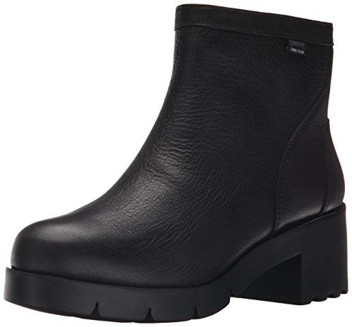 Camper Women's Wanda Waterproof  Leather Boot, Black - 6.5 B(M) US