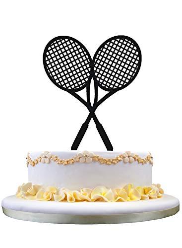 zhongfei Racquets Geburtstags-Kuchen-Deckel - Tennisschläger-Kuchen-Deckel
