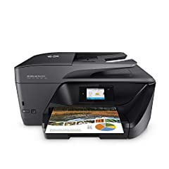 Main functions of this HP color inkjet photo printer: copy, scan, fax, wireless printing, two-sided duplex printing and scanning, color touchscreen, automatic document feeder, Instant Ink ready so you'll never run out of ink, and more Easily print wh...