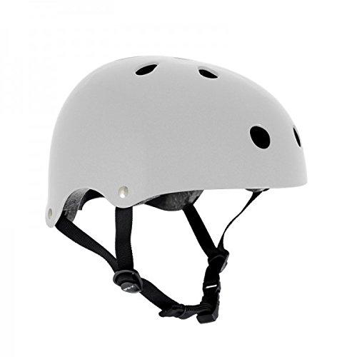 SFR Skateboard/scooter/inliner/rolschaats veiligheidshelm - wit - Bmx, inliner, longboard-helm - beschermingsuitrusting skateboard helm