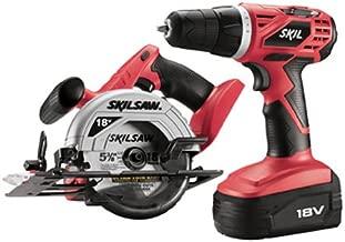 SKIL 2860-10 18 Volt 2-Tool Cordless Drill & Circular Saw Combo Kit