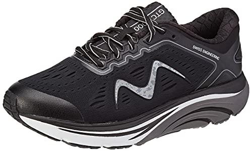 MBT Rocker Bottom Shoes Women's – Athletic Running Walking Shoe MBT-2000, Black - 10.5 M US