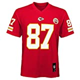Outerstuff Travis Kelce Kansas City Chiefs NFL Youth Red Home Mid-Tier Jersey (Youth Small 8)