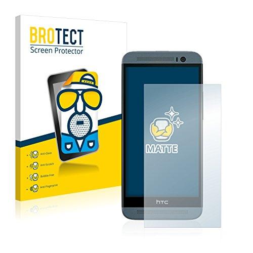 BROTECT 2X Entspiegelungs-Schutzfolie kompatibel mit HTC One E8 Bildschirmschutz-Folie Matt, Anti-Reflex, Anti-Fingerprint