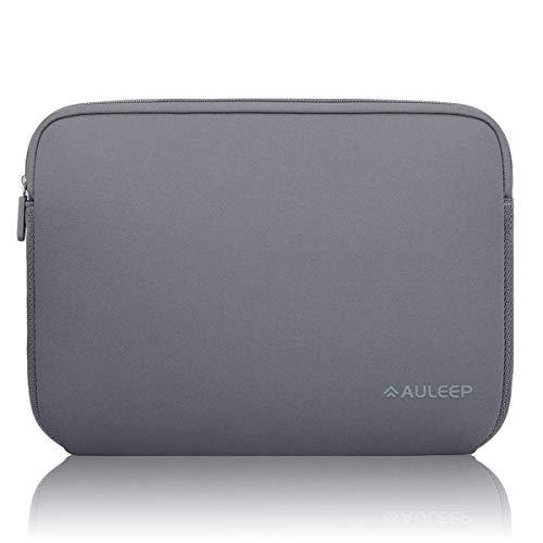 AULEEP 13-14 Pollici Sleeve per Laptop,Laptop Caso Protettiva/Neoprene Custodia Sleeve/Impermeabile Custodia Sleeve per PC/Tablet, MacBook/Acer/ASUS/dell/Lenovo/HP, Grigio