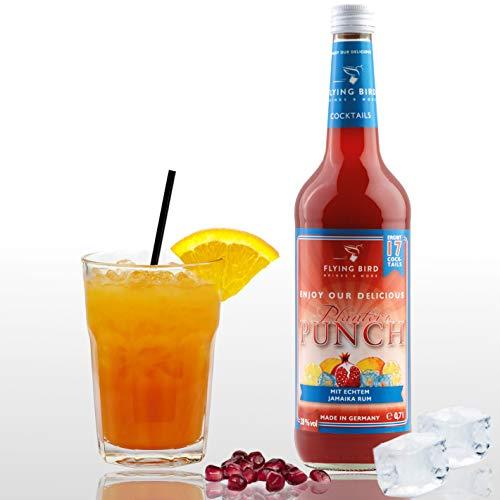 Planter\'s Punch 28{cca4dbb5e4848192e3dba461a79abd5f6bd8f334b5a1558a3550944845cd304e} Vol.   Premix, Fertig Mix für 17 Cocktails mit Alkohol   Flasche 0,7l mit allen Zutaten   Einfach mit Orangensaft mixen