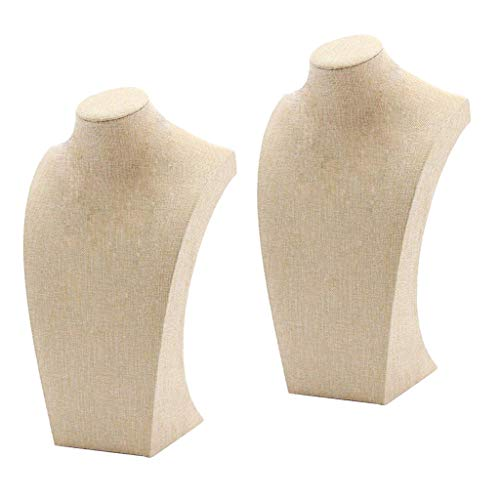 yotijar Mannequin Neck Bust Form for Display Jewelry Lab Supplies