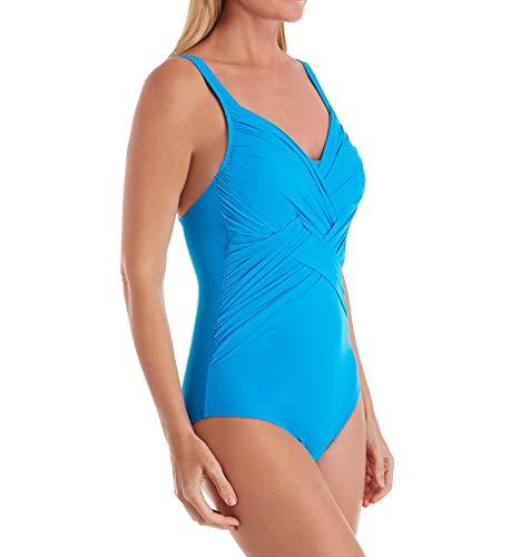 Anita Women's African Heat Kjana Underwire One Piece Swimsuit 7210 42E Atoll