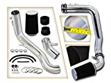 Rtunes Racing Cold Air Intake Kit + Filter Combo BLACK Compatible For 08-12 Honda Accord 3.5L V6