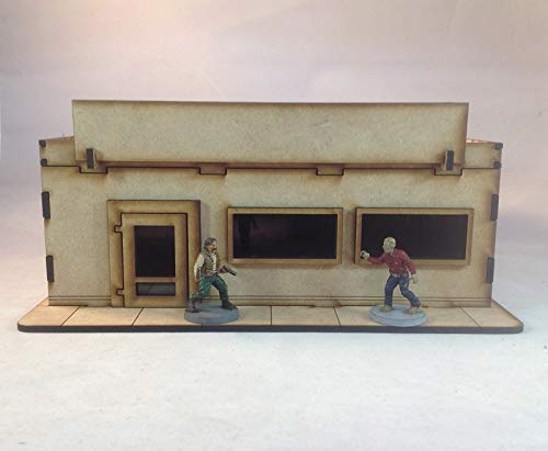 Store Front BC202 28mm Building Kit Laser Cut Terrain The Walking Dead All Out War
