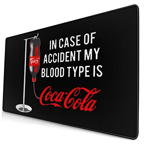 Others Coca-Cola Cartoon Game Rubber Mouse Pad