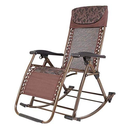 SOAR-Klappstuhl Gartenliege klappbar Folding Liegestuhl Sonnenliege Mit Gartenstuhl mit Sonnenschutz mit Schild, Aluminium und Polyester