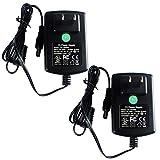 2-Packs AC to DC 12V 2A 24W Power Supply Adapter for CCTV Cameras